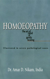 Homoeopathy, the art of rapid & gentle healing. Rs.250