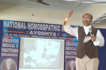 Invited for National Homoeopathic Seminar at Ayodhya